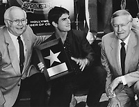 1986 Tom Cruise's Walk of Fame ceremony