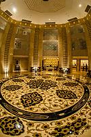 Lobby of the Hilton Luxor Resort & Spa, Luxor, Egypt