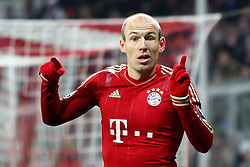 22.11.2011, Allianz Arena, Muenchen, UEFA CL, Gruppe A, GER, FC Bayern Muenchen (GER) vs FC Villarreal (ESP), im Bild Arjen Robben (Bayern #10)  //during the football match of UEFA Champions league, group a, between  FC Bayern Muenchen (GER)  vs.  FC Villarreal  (ESP) Gruppe A, on 2011/11/22 at Allianz Arena, Munich, Germany. EXPA Pictures © 2011, PhotoCredit: EXPA/ nph/ Straubmeier..***** ATTENTION - OUT OF GER, CRO *****
