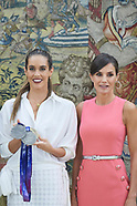 072319 Spanish Royals attends an audience with Ona Carbonell