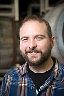Kevin Martin är ölmakarchef [lead blender] på Cascade Brewing, Portland, Oregon. <br /> Foto: Christina Sjögren