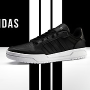 Black-white Adidas Entrap Basketball Shoe