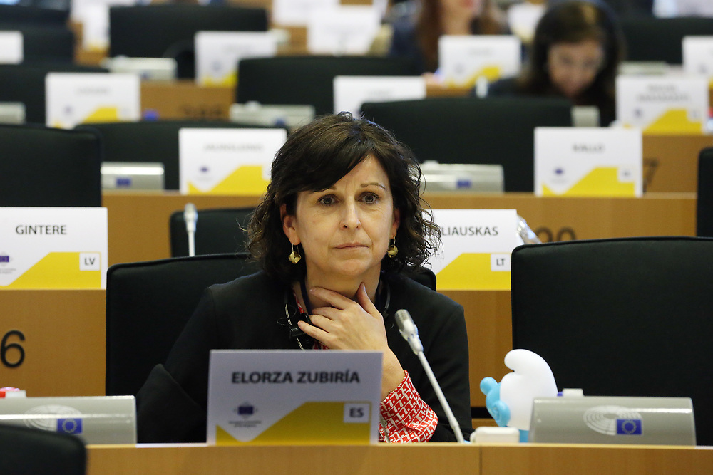 11 May 2017, 123rd Plenary Session of the European Committee of the Regions <br /> Belgium - Brussels - May 2017 <br /> <br /> Mrs ELORZA ZUBIRÍA María Ángeles, Secretary-General for External Action of the Basque Government, Spain<br /> <br /> © European Union / Patrick Mascart