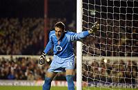 Fotball, 07. desember 2004, Champions League,  Arsenal - Rosenborg 5-1,  Manuel Almunia, Arsenal