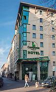 Hotel Campanile przy ulicy św. Tomasza w Krakowie, Polska<br /> Campanile Hotel at St. Tomasz street in Cracow, Poland