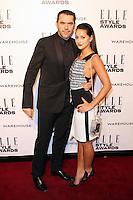 Roland Mouret; Roxie Nafousi, ELLE Style Awards, One Embankment, London UK, 18 February 2014, Photo by Richard Goldschmidt