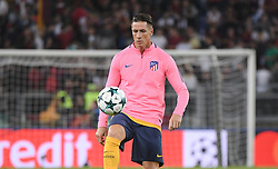 September 12, 2017 - Rome, Lazio, Italy - Fernando Torres during the UEFA Champions League group C football match AS Roma vs Atletico Madrid FC at the Olympic Stadium in Rome, on september 12, 2017. (Credit Image: © Silvia Lore/NurPhoto via ZUMA Press)
