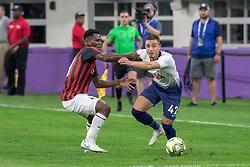July 31, 2018 - Minneapolis, Minnesota, U.S - Tottenham's ANTHONY GEORGIOU (42) battles for the ball with Milan's FRNCK KESSIE (Credit Image: © Keith R. Crowley via ZUMA Wire)