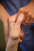 Caring Hands Of A Nurse