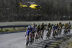 March 15, 2019 - Pomarance, Italia, Italia - Foto LaPresse/Fabio Ferrari .15/03/2019 Pomarance (Italia) .Sport Ciclismo.Tirreno-Adriatico 2019 - edizione 54 - da Pomarance a Foligno  (226 km) .Nella foto:durante la gara..Photo LaPresse/Fabio Ferrari .March 15, 2018 Pomarance (Italy).Sport Cycling.Tirreno-Adriatico 2019 - edition 54 - Pomarance to Foligno (140 miglia) .In the pic:during the race. (Credit Image: © Fabio Ferrari/Lapresse via ZUMA Press)