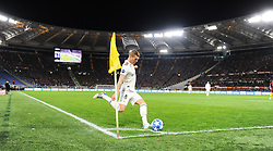November 27, 2018 - Rome, Italy - Toni Kross of Real Madrid to kick the corner during the Champions league football match between AS Roma  and Real Madrid at Olimpico stadium in Rome, Italy, on November 27, 2018. (Credit Image: © Federica Roselli/NurPhoto via ZUMA Press)