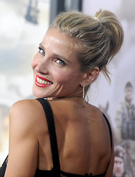 Elsa Pataky at the premiere of '12 Strong' in New York City.