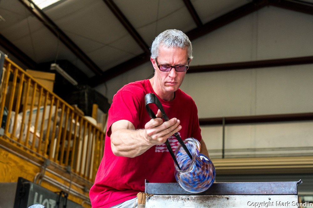 Orbix Hot Glass, Cal Breed, Glass Blower, Maker