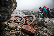 Hiking the Chilkoot Trail in the footsteps of the Klondike Stampeders from Alaska to the Yukon