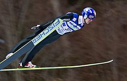 05.02.2011, Heini Klopfer Skiflugschanze, Oberstdorf, GER, FIS World Cup, Ski Jumping, 1. Wertungsdurchgang, im Bild Adam Malysz (POL) , during ski jump at the ski jumping world cup in Oberstdorf, Germany on 05/02/2011, EXPA Pictures © 2011, PhotoCredit: EXPA/ P. Rinderer