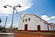 Cuiaba_MT, Brasil...Igreja do Rosario e Sao Benedito em Cuiaba, Mato Grosso...Rosario and Sao Benedito church in Cuiaba, Mato Grosso. ..Foto: JOAO MARCOS ROSA  / NITRO..