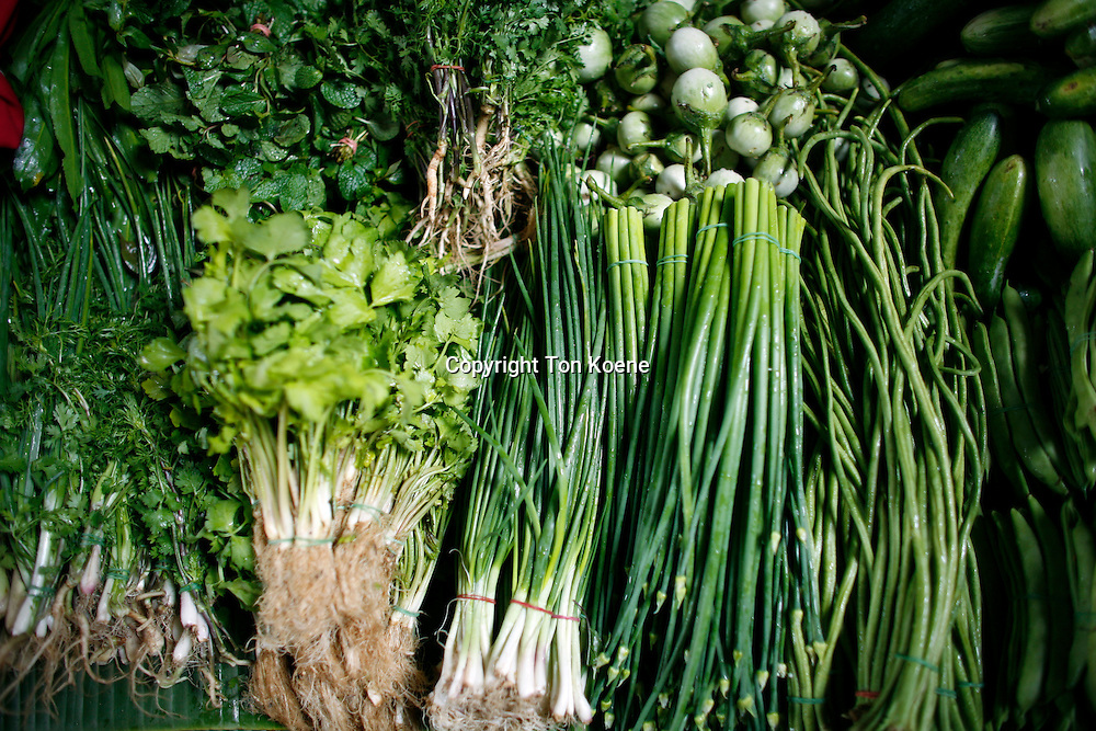 fruits and vegetables in Thailand