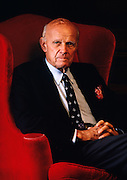 George Moore, former Citicorp Chairman. This portrait was taken in 1987 when Mr. Moore was 82 years old.