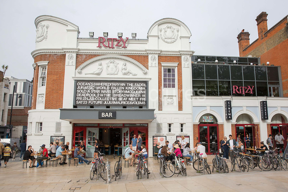 The Brixton Ritzy Cinema on the 23rd June 2018 in Brixton in the United Kingdom.