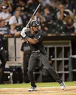 CHICAGO - AUGUST 23:  Tim Anderson #7 of the Chicago White Sox bats against the Texas Rangers during Players Weekend on August 23, 2019 at Guaranteed Rate Field in Chicago, Illinois.  (Photo by Ron Vesely)  Subject:   Tim Anderson