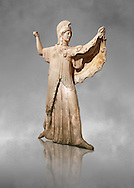 Roman marble sculpture of Athena from the tabling of the Villa of the Papyri in Herculaneum, Naples Museum of Archaeology, Italy ..<br /> <br /> If you prefer to buy from our ALAMY STOCK LIBRARY page at https://www.alamy.com/portfolio/paul-williams-funkystock/greco-roman-sculptures.html . Type -    Naples    - into LOWER SEARCH WITHIN GALLERY box - Refine search by adding a subject, place, background colour, etc.<br /> <br /> Visit our ROMAN WORLD PHOTO COLLECTIONS for more photos to download or buy as wall art prints https://funkystock.photoshelter.com/gallery-collection/The-Romans-Art-Artefacts-Antiquities-Historic-Sites-Pictures-Images/C0000r2uLJJo9_s0