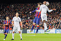 10 december-BARCELONA SPAIN: Zlatan Ibrahimovic , Leo Messi and Blaise Matuidi in the match between FC Barcelona and PSG, for Week 6 of the Champions League,<br /> Paris<br /> <br /> Norway only