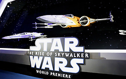 Spaceship at the World premiere of Disney's 'Star Wars: The Rise Of Skywalker' held at the Dolby Theatre in Hollywood, USA on December 16, 2019.