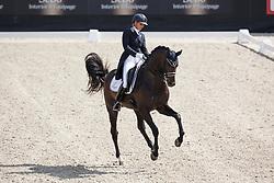 Scholtens Emmelie, (NED), Apache<br /> Kingsley Donadeo Grand Prix<br /> Dutch Championship Dressage - Ermelo 2015<br /> © Hippo Foto - Dirk Caremans<br /> 17/07/15