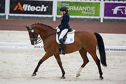 Karolina Karwowska, (POL), Emol, - Team Competition Grade III Para Dressage - Alltech FEI World Equestrian Games™ 2014 - Normandy, France.<br /> © Hippo Foto Team - Jon Stroud <br /> 25/06/14