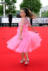 Ella Eyre arriving for the Virgin TV British Academy Television Awards 2017 held at Festival Hall at Southbank Centre, London.