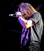 Todd La Torre - Vocals with Queensryche performs at The House of Blues in Anaheim Ca. on their VERDICT TOUR -January 30th, 2020
