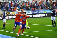 08.07.2012, Tippeligaen, Color Line stadio, Eliteserien, Aafk - Viking,Sander Post - aalesund, Foto: Kenneth Hjelle Digitalsport