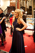 CAMILLA KERSLAKE; , Reception after Christmas Carol Service in aid of the Haven, Breast Cancer Support Centres. St. Paul's, Knightsbridge. London. 9 December 2010.  -DO NOT ARCHIVE-© Copyright Photograph by Dafydd Jones. 248 Clapham Rd. London SW9 0PZ. Tel 0207 820 0771. www.dafjones.com.