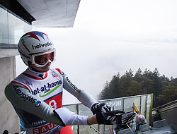 04.01.2013, Bergisel Schanze, Innsbruck, AUT, FIS Ski Sprung Weltcup, 61. Vierschanzentournee, Training, im Bild Simon Ammann (SUI) // Simon Ammann of Switzerland during practice Jump of 61th Four Hills Tournament of FIS Ski Jumping World Cup at the Bergisel Schanze, Innsbruck, Austria on 2013/01/04. EXPA Pictures © 2012, PhotoCredit: EXPA/ Juergen Feichter