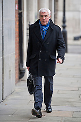 © London News Pictures. 09/02/2013 . London, UK. Tim Smith, Group Tecjnical Director for Tescoarriving at the Department for the Environment, Food and Rural Affairs in London where Secretary of State for Environment, Food and Rural Affairs, OWEN PATERSON is holding a summit to discuss the unfolding scandal over horsemeat being found in various products.. Photo credit : Ben Cawthra/LNP