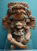 Pottery Urn, Zapotec, Mexico AD 500-800.
