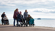EMBARGOED 00:01 Wednesday 22nd February; 2017.<br /> <br /> Residents and carers from Chestnut View care home on the seafront in Southsea, Hampshire. They are amongst the first of 100,000s of old and vulnerable people to enjoy new Out and About excursions after Oomph! announces nationwide expansion plans today (Wednesday 22nd February).<br /> Out and About tackles a lack of outings for people in care settings due to social care funding cuts. Innovative model offers economies of scale on excursion planning, transport and conductors across care settings in an area.<br /> 80 Out and About minibuses will hit the road in first year thanks to £1.5million investment from Mike Parsons, Care and Wellbeing Fund and Nesta Impact Investments.<br /> Photograph by Christopher Ison ©<br /> 07544044177<br /> chris@christopherison.com<br /> www.christopherison.com