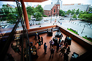 September 25, 2014 - The Bechtler Young Visionaries celebrated their first-year anniversary on the sculpture terrace at the Bechtler Museum of Modern Art. <br /> © 2014 Wendy Yang Photography