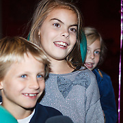 NLD/Den Haag/20131030 - Premiere Mr Finney, Prinses Eloise, prins Claus-Casimier, Prinses Leonore