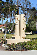 Statue Monument to Helena Modjeska at Pearson Park