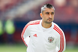 June 13, 2018 - Moscou, Rússia - MOSCOU, MO - 13.06.2018: GENERAL PICTURES MOSCOW 2018 - Aleksandr Samedov of Russia during the official training before the opening game of the 2018 FIFA World Cup between Russia and Saudi Arabia held at the Lujniki Stadium in Moscow, Russia. (Credit Image: © Marcelo Machado De Melo/Fotoarena via ZUMA Press)