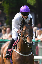 Sands Of Mali ridden by Paul Hanagan goes on to win the Armstrong Aggregates Sandy Lane Stakes (Class 1) at Haydock Park Racecourse.