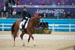 Veratti Silvia (ITA) - Zadok<br /> Individual Championship Test  - Grade II -<br /> London 2012 Paralympic Games<br /> © Hippo Foto - Jon Stroud