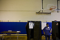 4 November, 2008. Harlem, New York, NY. Harlem residents cast their vote at the Public School 175. After nearly two years of presidential campaigning, U.S. citizens go to the polls today to vote in the election between Democratic presidential nominee U.S. Sen. Barack Obama (D-IL) and Republican nominee U.S. Sen. John McCain (R-AZ).<br /> ©2008 Gianni Cipriano<br /> cell. +1 646 465 2168 (USA)<br /> cell. +1 328 567 7923 (Italy)<br /> gianni@giannicipriano.com<br /> www.giannicipriano.com