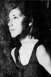 June 22, 2017 - Michigan, U.S. - Karen Malloy, 18, said on July 31, 1967 said that she was beaten and threatened with death in the tense moments that preceded the deaths of three Negro youths in the Algiers Motel in Detroit. She is once of eight witnesses who claim that men in uniform killed the unarmed men because they were believed to be snipers, said the same officers struck her and a girl friend with rifle butts, then ripped their clothes and said the girls too, would be killed. (Credit Image: © Detroit Free Press via ZUMA Wire)