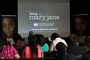 """Guests wait for a screening of BET's """"Being Mary Jane"""" at the W Hotel in Dallas, Texas on June 22, 2013."""
