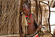 male Karo tribesman. Omo Valley, Ethiopia