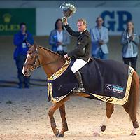 Retirement of Ninja la Silla - Gothenburg Horse Show 2013