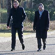 NLD/Amsterdam/20120127 - Uitvaart Jeroen Soer, Robert ten Brink