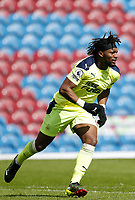 Football - 2020 / 2021 Premier League - Burnley vs. Newcastle United<br /> <br /> Allan Saint-Maximin of Newcastle United celebrates after he scores his side's second goal to put his side 2-1 ahead, at Turf Moor.<br /> <br /> <br /> COLORSPORT/ALAN MARTIN